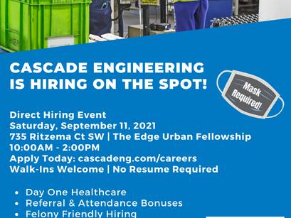 Job hiring on the spot!
