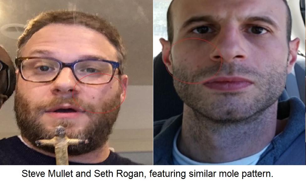 Steve Mullet and Seth Rogan, Similar Mol