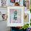 Thumbnail: Custom framed limited edition fine art print, 'Ettore's Yellowface'