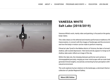 'Salt Lake' video art acquired by Latrobe Regional Gallery