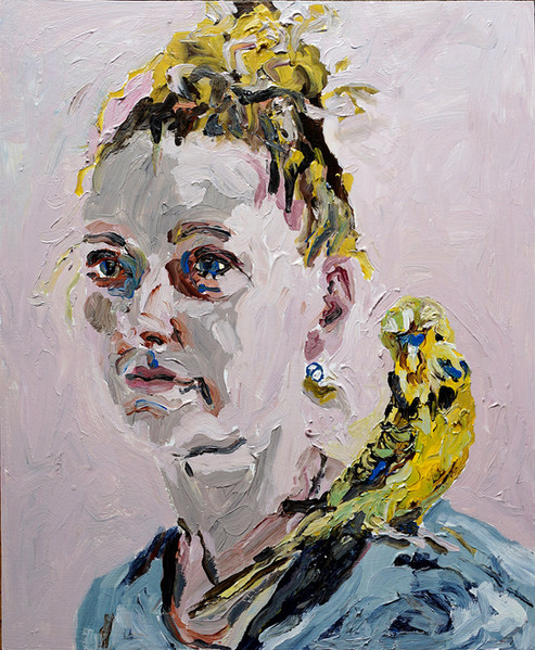 'Self portrait with Banana'
