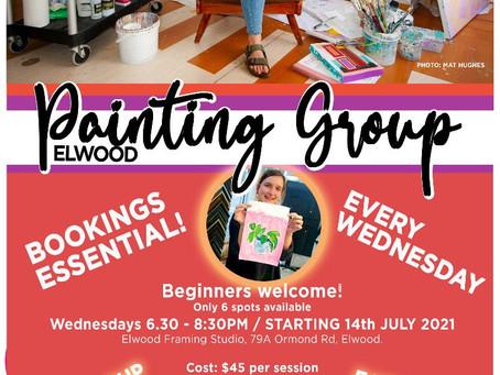 Elwood Painting Group - Term 3