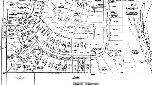 Wilder Estates Plot Map
