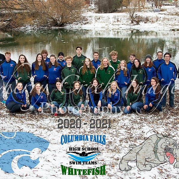 CF WF HS Swim Teams