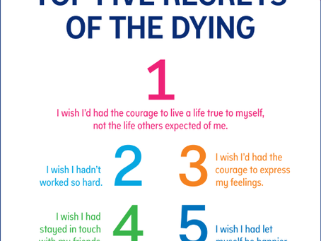 The Top 5 Regrets of the Dying