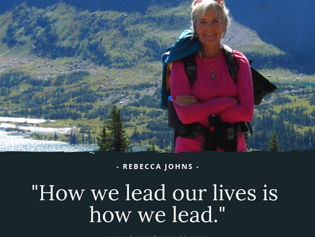 How We Lead Our Lives is How We Lead