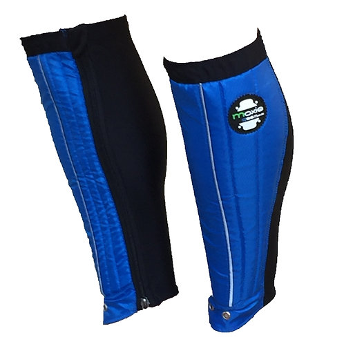 Shin Gaiter - Blue & Black