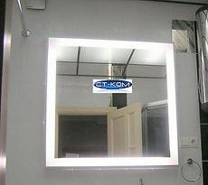 Зеркало с LED подсветкой. Мастерская зеркал СТ-КОМ www.ct-kom.com  8 343 202 43 22