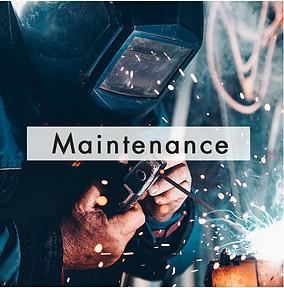 Maintenance et Service après-vente