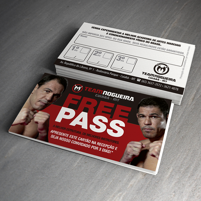 Team Nogueira Free Pass