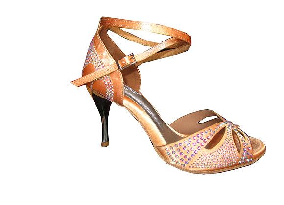 chaussures de tango Graziella coloris chair