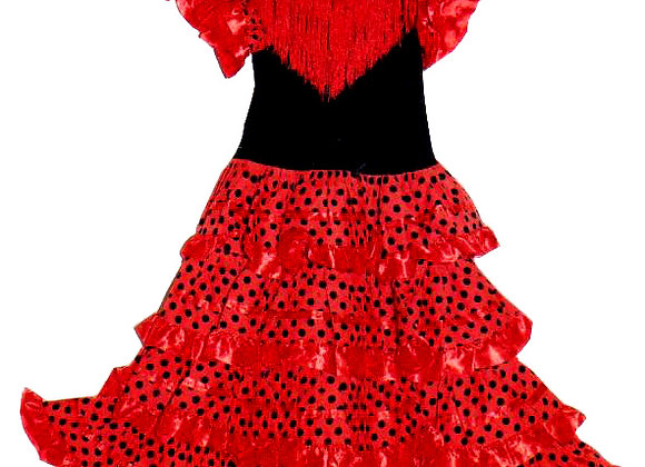 LOLITA - robe de Flamenco fillette