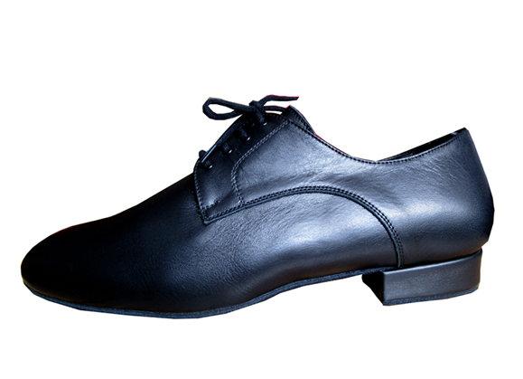 chaussure de danse de salon pour homme MARTINO cuir noir