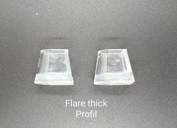 """PROTEGE TALONS """"FLARE THICK"""""""