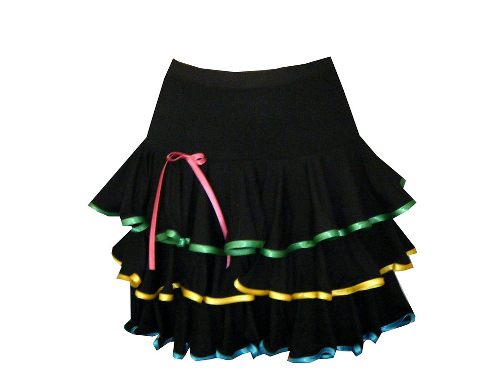 Offrez-vous une de nos ravissantes jupes de danses latines !