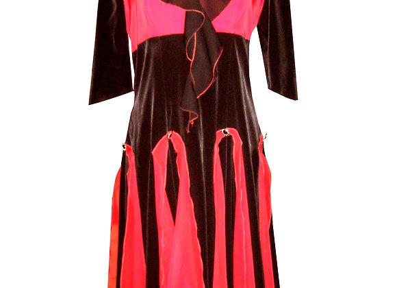 MASCHERA - Robe de danse de salon Made in France