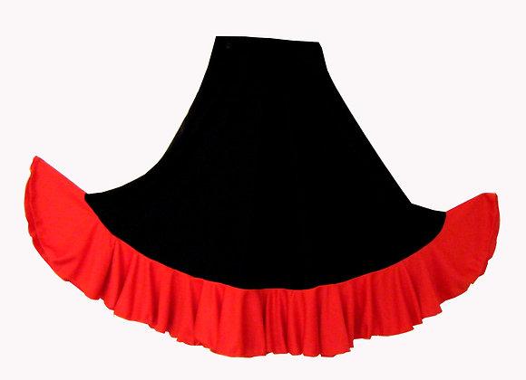 BRUNELLA fillette - jupe de Flamenco