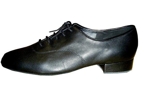 chaussure de danse de salon pour homme JIMMY cuir noir