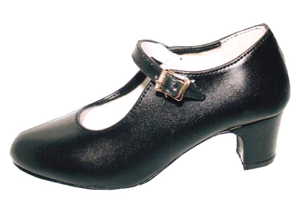chaussures Flamenco fillette CHIQUITA noir
