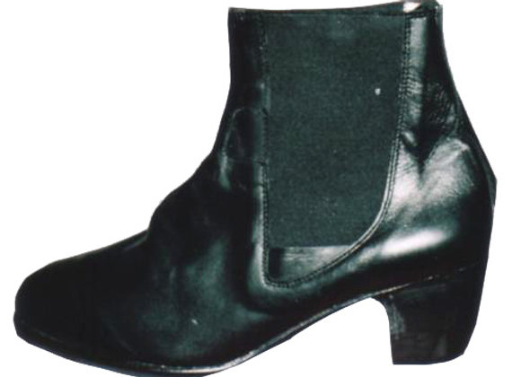 RODRIGO cuir noir - Bottines flamenco homme