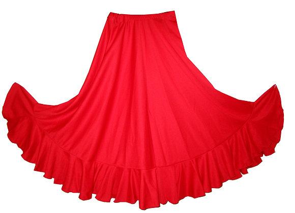 jupe de Flamenco fillette BRUNELLA rouge