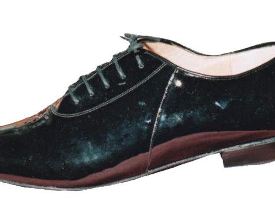 TECNIC vernis noir - Chaussure de danse pour homme