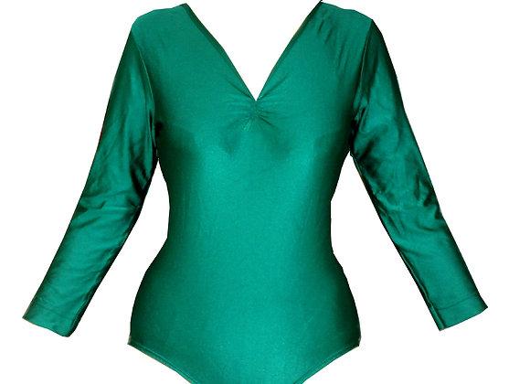 LINE - body de danse vert