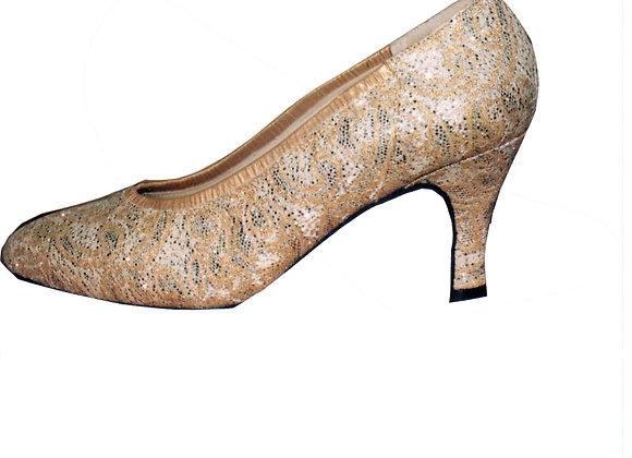 VANESSA nuage doré - Chaussures de danse standard