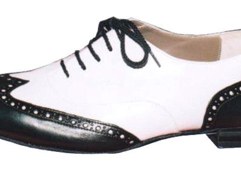 AMERICA B - noir et blanc - Chaussures de danse pour homme