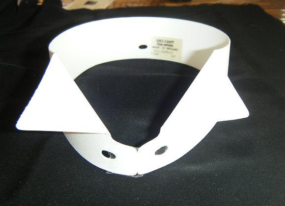 COL PLASTIQUE pour chemise de frac HT 4 cm 1/2