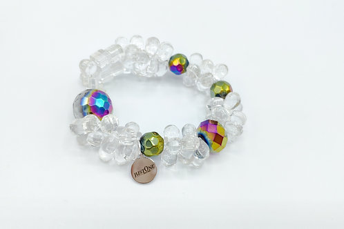 Pulsera Crystal Clear 01