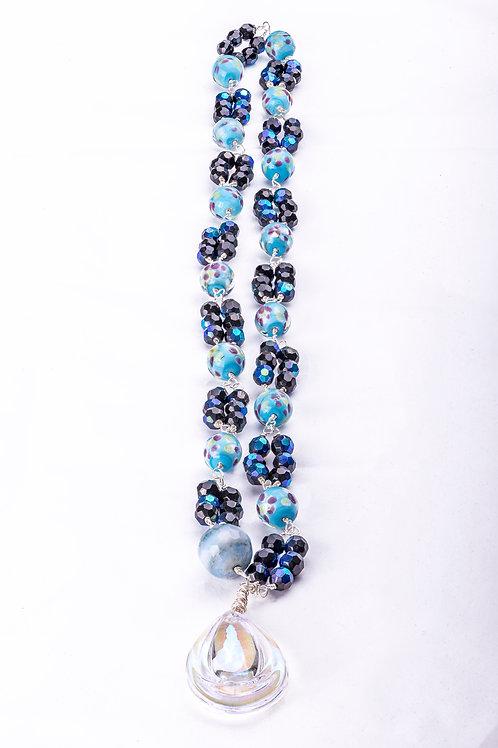 Collar Crystal Clear 03