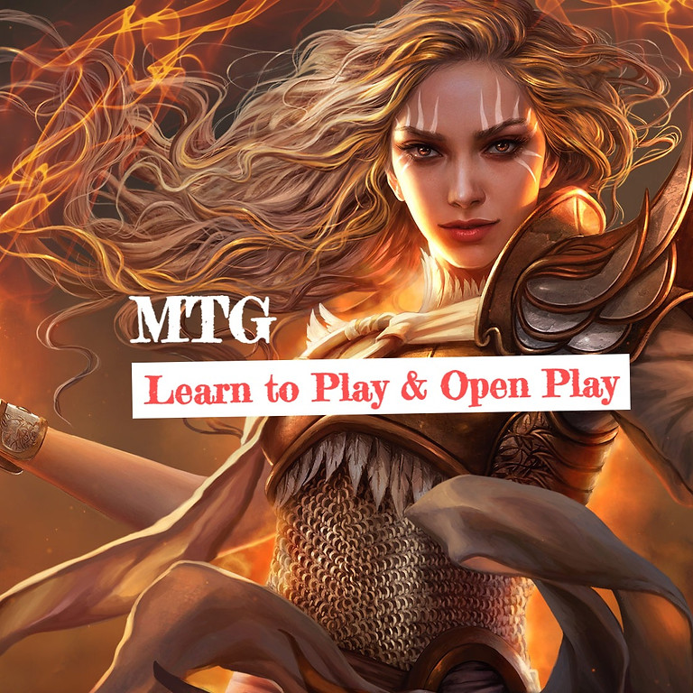 Learn to Play Magic The Gathering! and Open Play