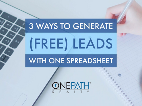 3 ways to generate (free) leads with one spreadsheet