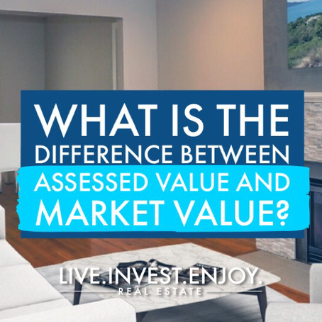 What is the difference between assessed value and market value?