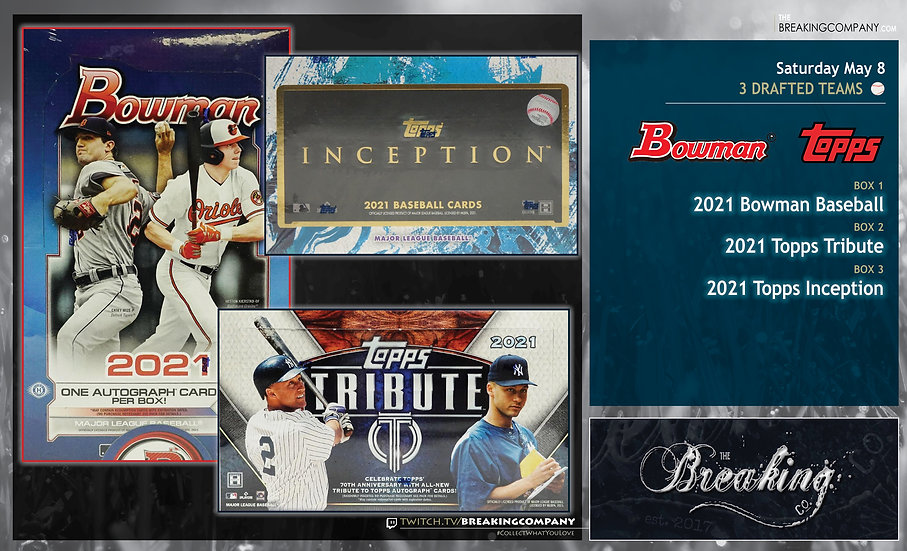 2021 Bowman / Topps Tribute / Inception