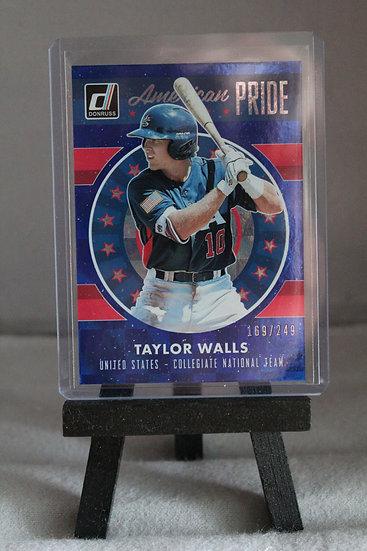 Taylor Walls | 2017 Donruss