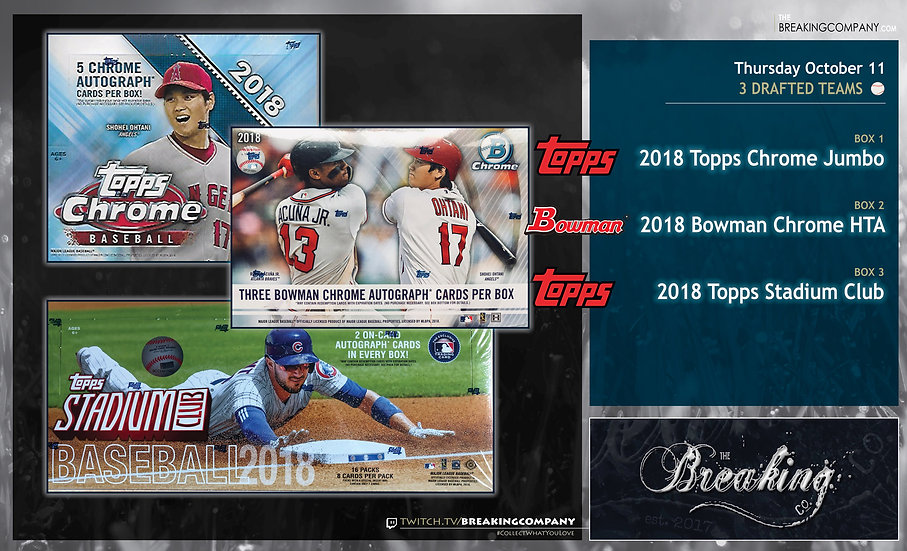 10/11: Topps Chrome / Bowman Chrome / Stadium Club