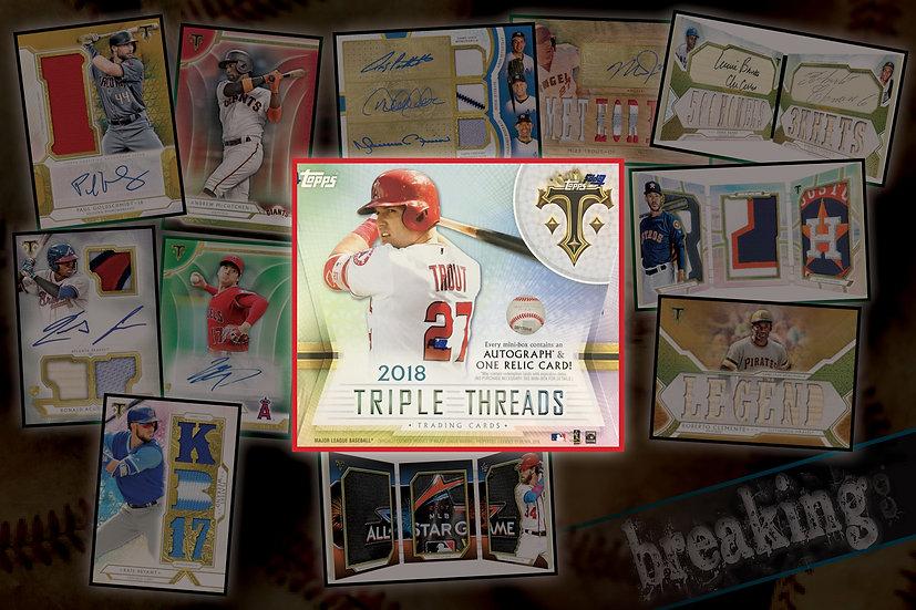 11/15: 2018 Topps Triple Threads PYT