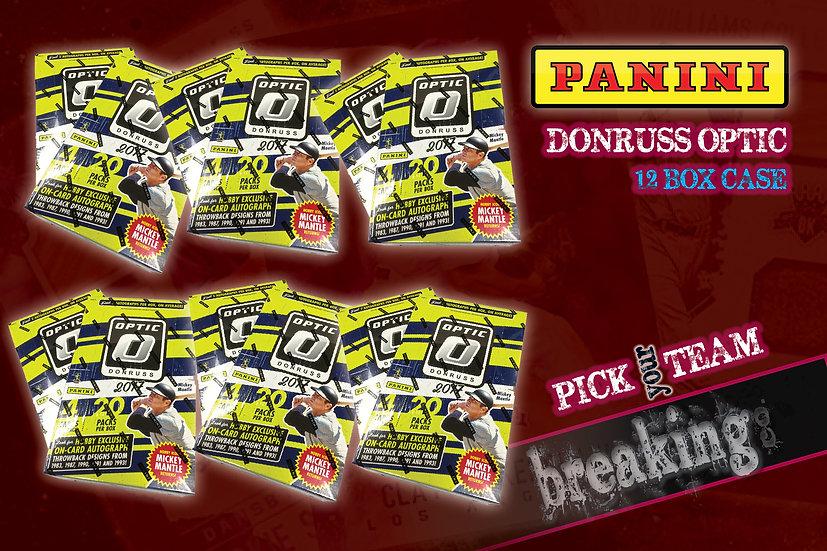 12/12: Panini Donruss Optic Case PYT