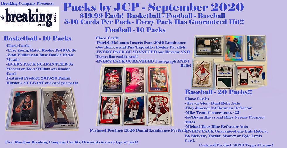 September Mystery Packs