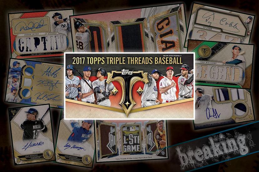 9/20: Topps Triple Threads Personal Break