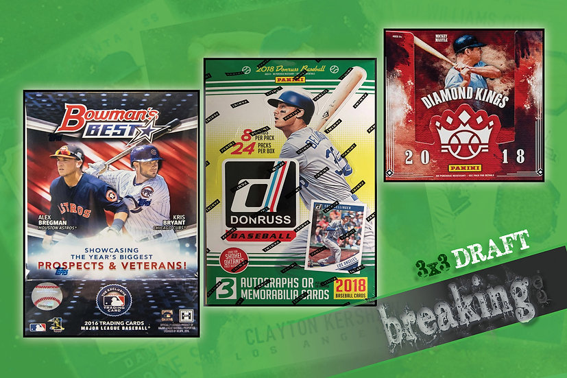 4/22: Bowman's Best/Donruss/Diamond Kings