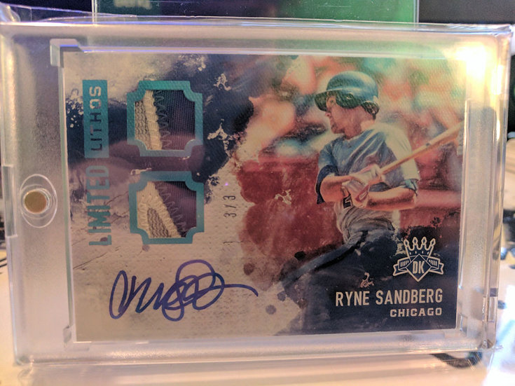 Ryne Sandberg | 2017 Diamond Kings