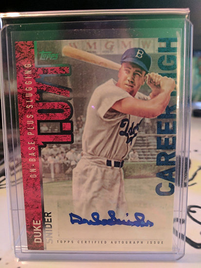 Duke Snider | 2015 Topps Cooperstown Collection