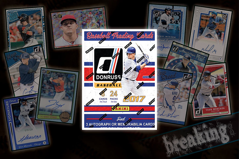 2017 Panini Donruss Hobby Box