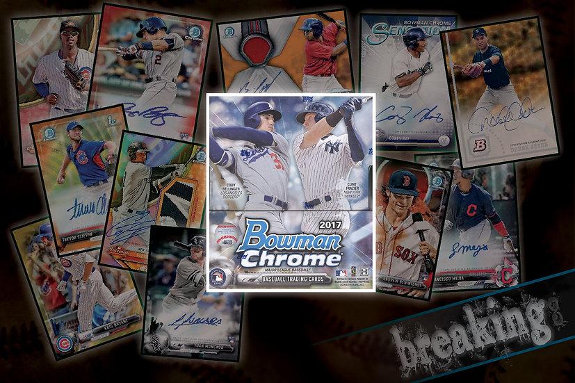 2017 Bowman Chrome 12-Box Case PYT