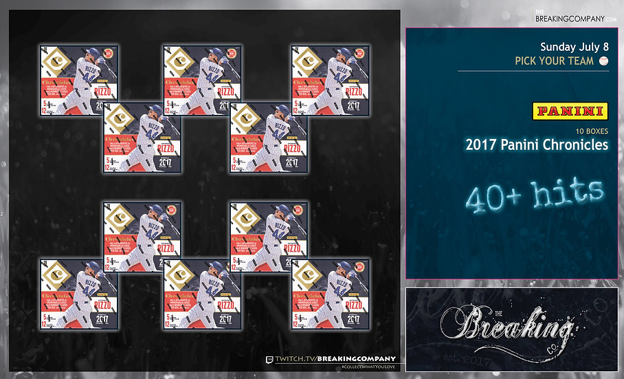 7/8: 2017 Panini Chronicles 10-Box PYT