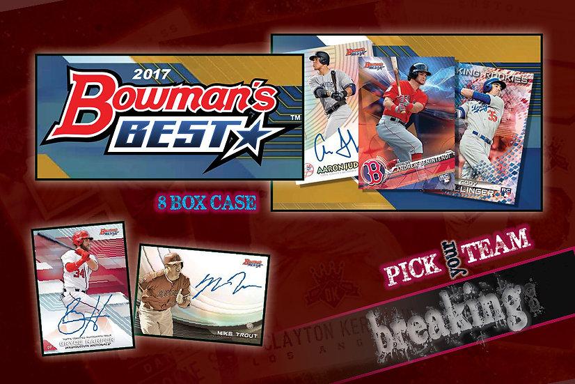 12/20: 2017 Bowman's Best Case PYT