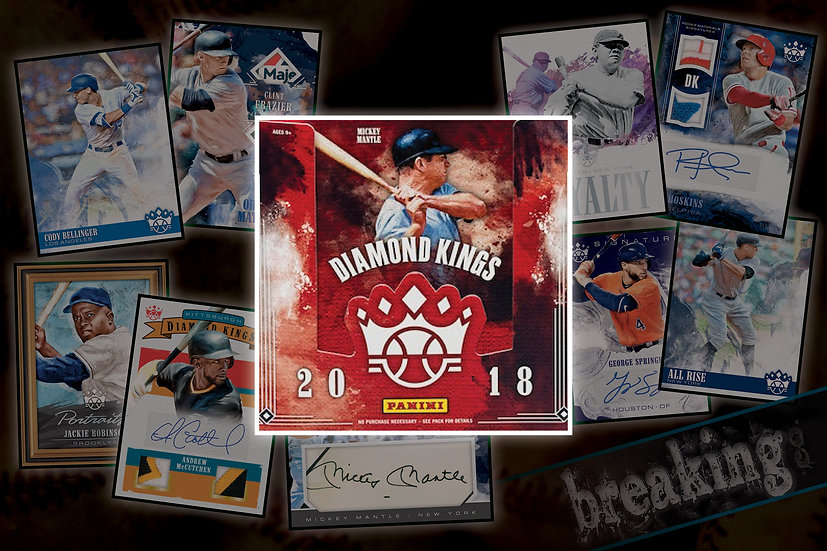 5/1: Panini Diamond Kings Solo Break